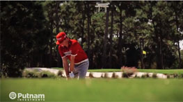 Video: Pro Golfer Keegan Bradley vs DJI Phantom GoPro Drone